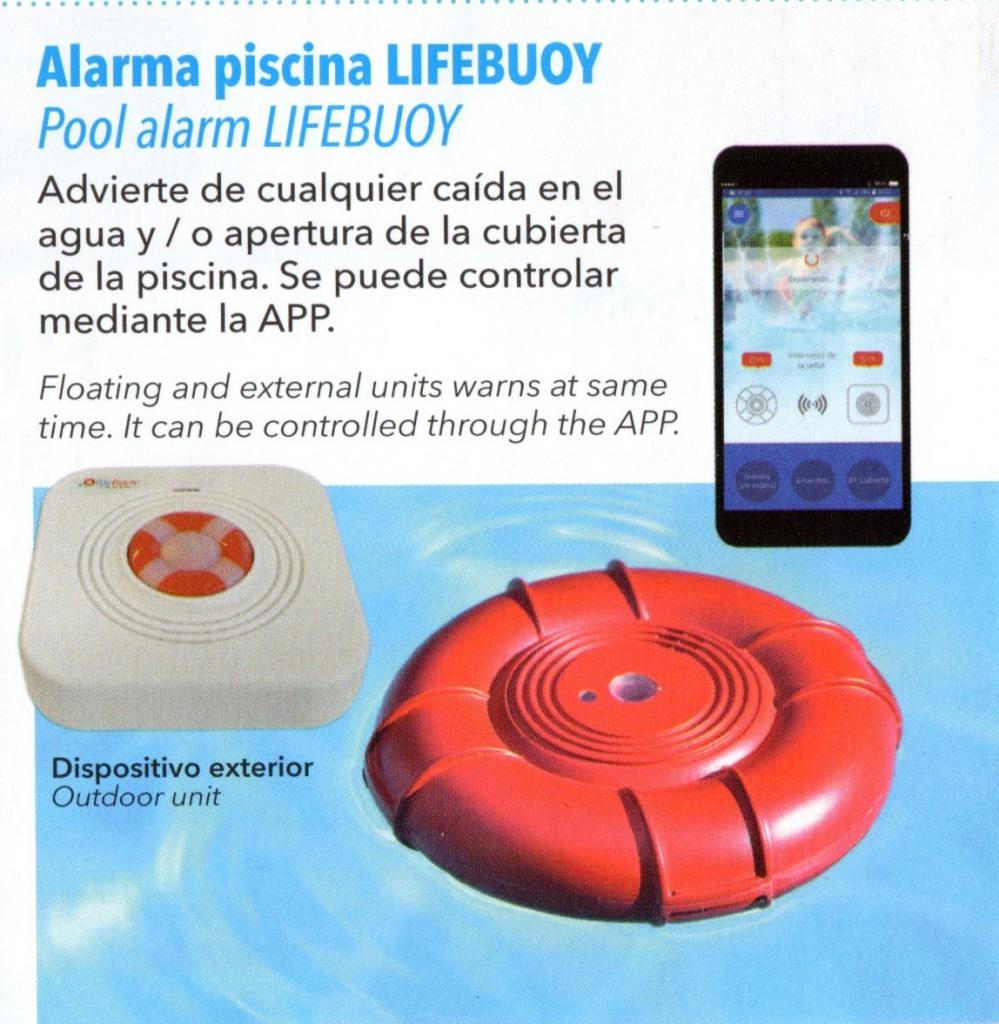 Alarma de seguridad para piscinas