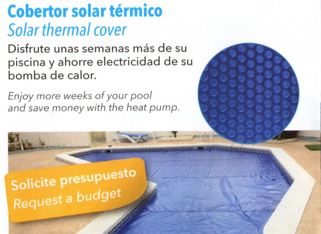 Cobertor solar térmico piscinas